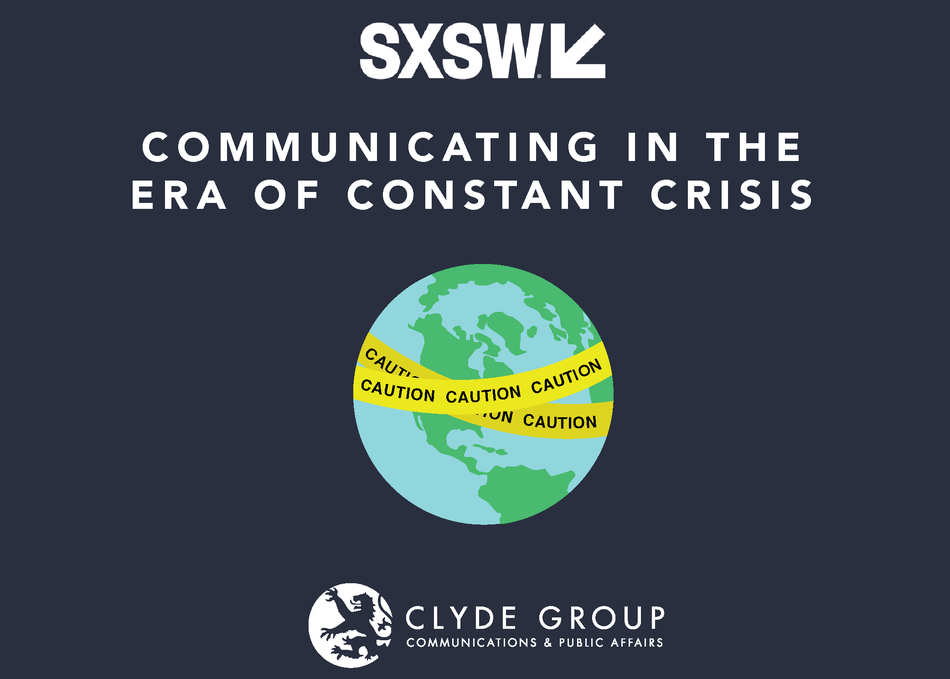 Communicating in the Era of Constant Crisis
