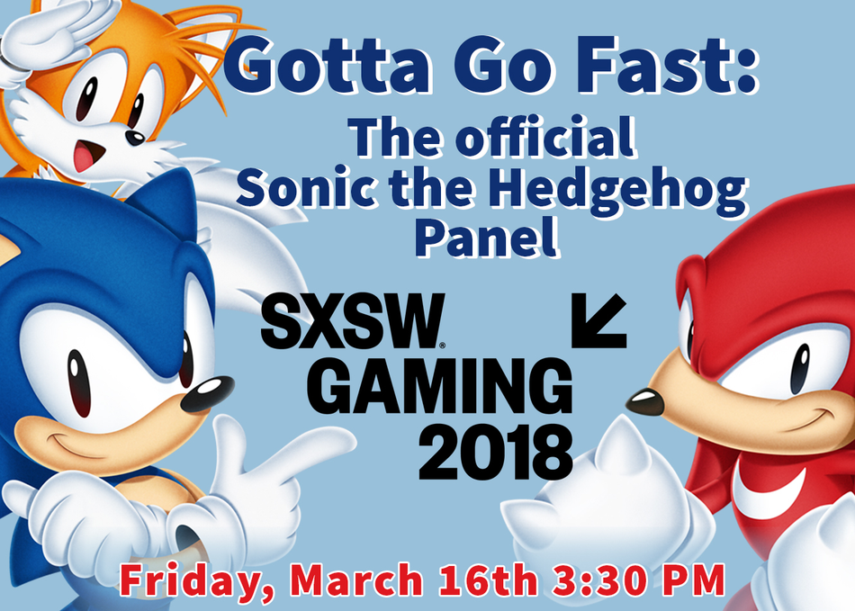 Gotta Go Fast: The Official Sonic the Hedgehog Panel