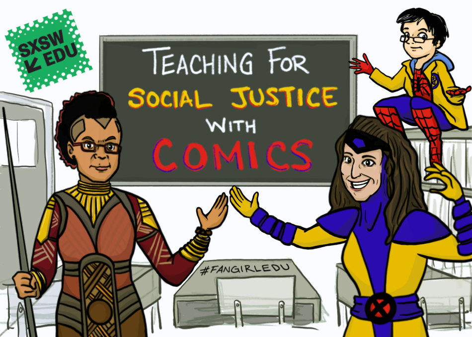 Teaching for Social Justice with Comics