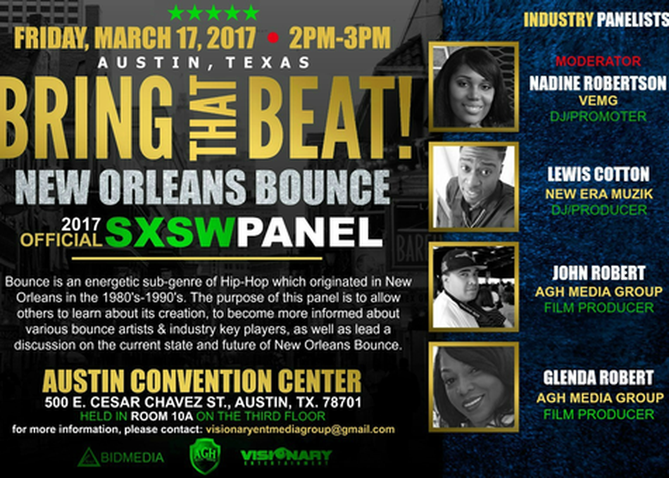 BRING THAT BEAT! New Orleans Bounce