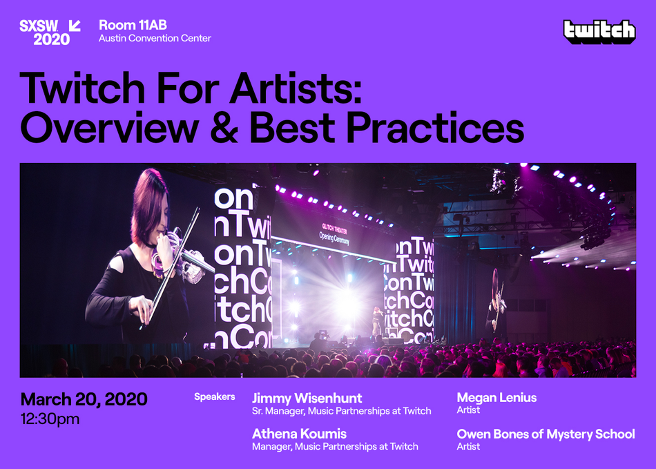 Twitch for Artists: Overview & Best Practices