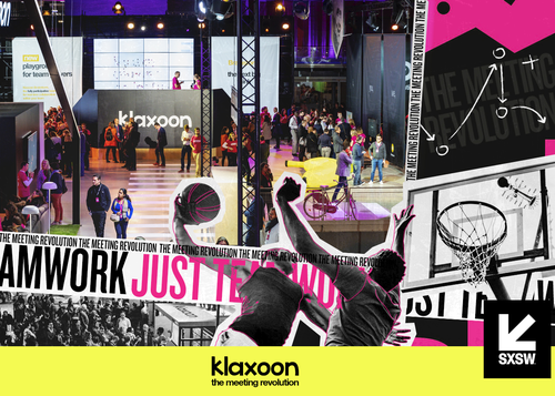 Klaxoon at SXSW: the power of teamwork