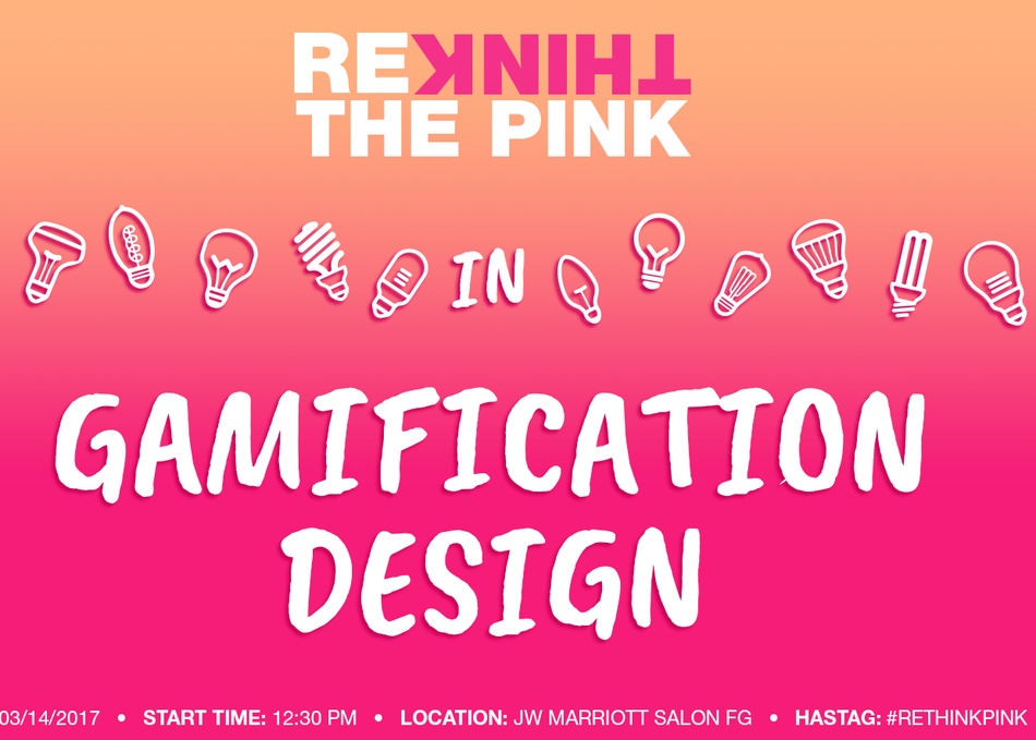 Rethink the Pink in Gamification Design