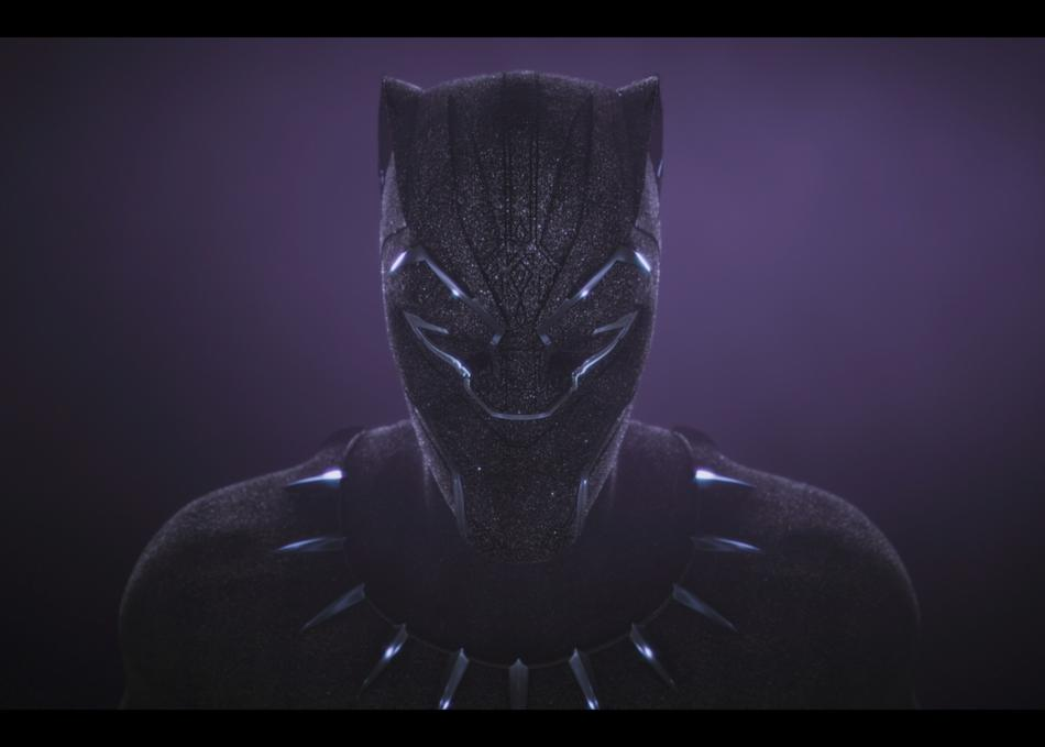 Black Panther Main on End Title Sequence