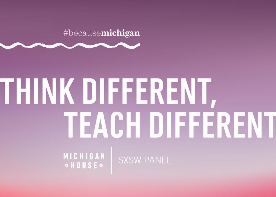 Think Different, Teach Different