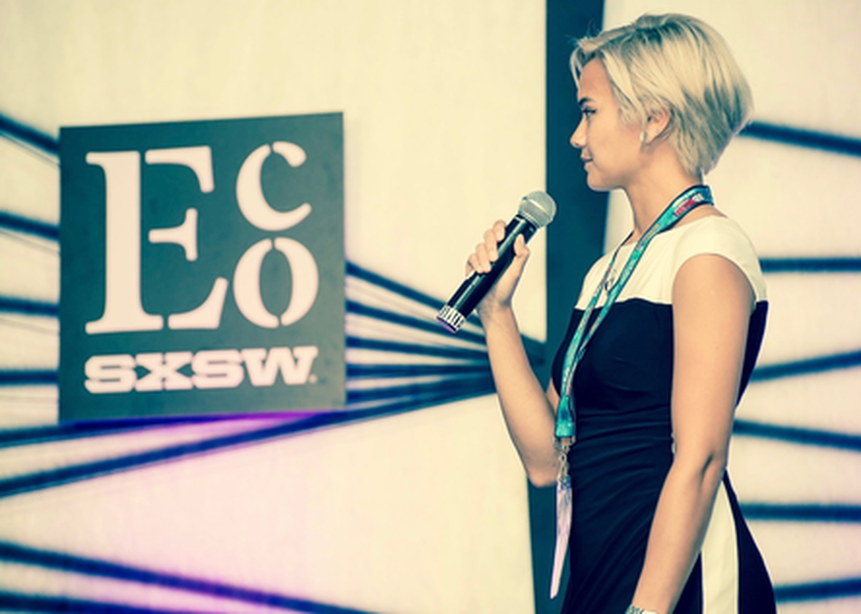 SXSW Eco Startup Speed Pitches