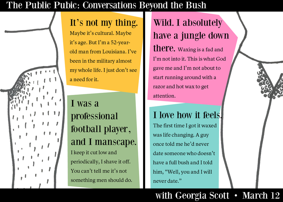 The Public Pubic: Conversations Beyond the Bush