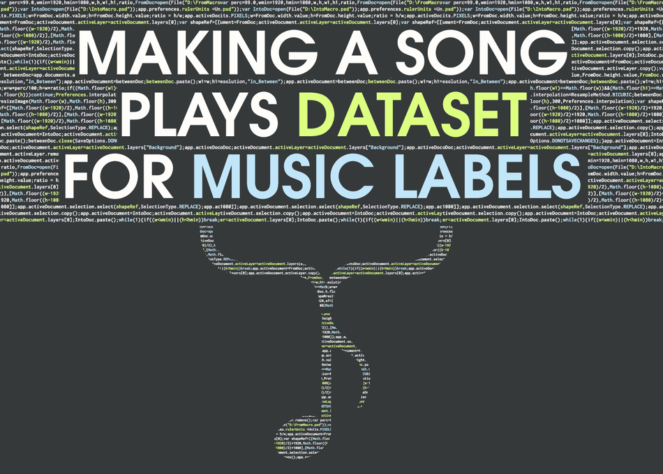 Making Daily Song Plays Datasets For Music Labels